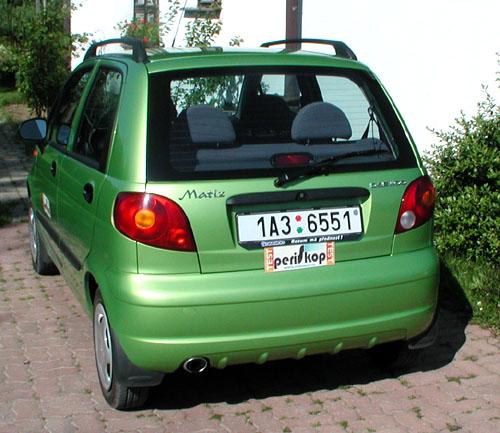 Daewoo Matíz – první vprodeji ve třídě minivozů na našem trhu – vtestu redakce