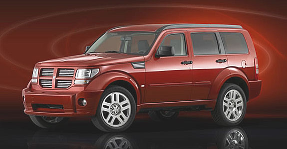 Zcela nový prostorný model Dodge Nitro na náš trh