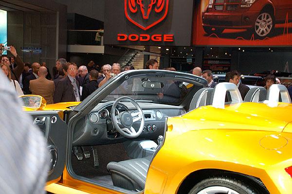 Koncepční model Dodge Demon na Autosalonu v Ženevě
