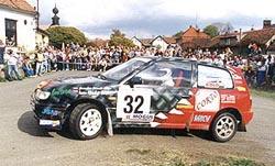 Domácí mistrovství v rally potřetí hostí západní Čechy