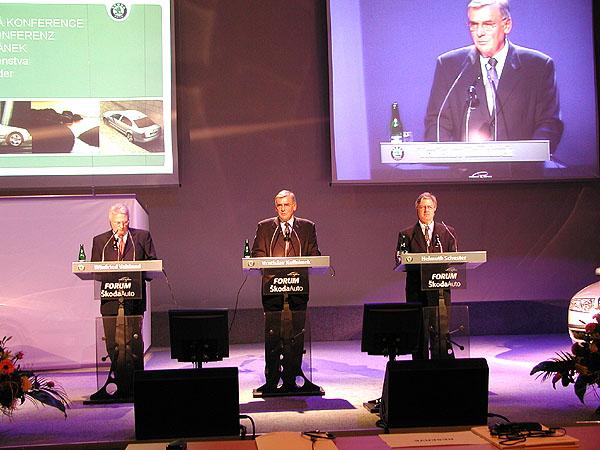 Včera 26. února proběhla výroční tisková konference společnosti Škoda Auto