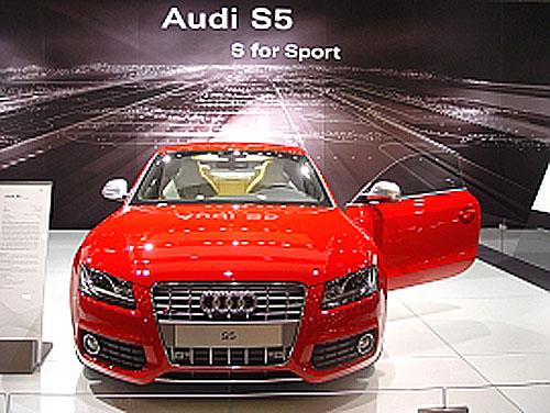 Titul LADYCAR 2007 získal vůz Audi S5