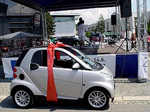 Na Autosalonu vBrně vylosován další vůz na víkend