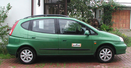 Daewoo Tacuma – plnohodnotný velkoprostorový vůz vtestu redakce