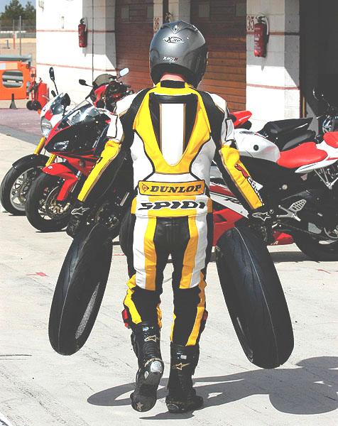 Dunlop Sportmax Qualifier RR a GP Racer