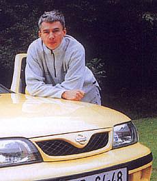 Jonathan Edwards: Mým prvním autem byl Datsun