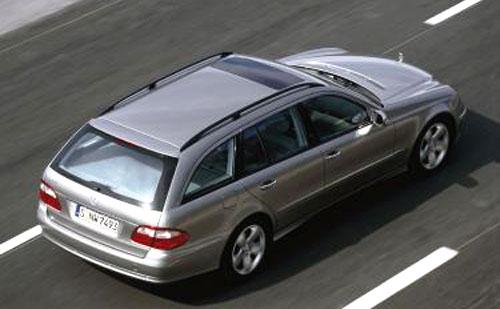 Nové kombi Mercedes-Benz Třídy E - světová premiéra tento měsíc na Auto-Show vDetroitu