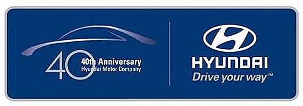 Hyundai oslaví čtyřicáté výročí svého založení