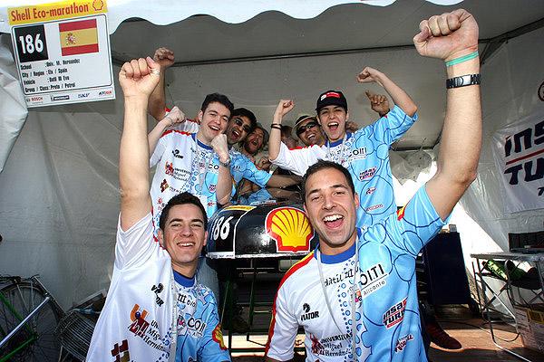 Evropský Shell Eco-marathon 2007 proběhl o víkendu ve Francii