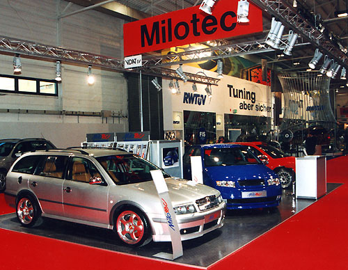 Milotec na Motor Show Essen