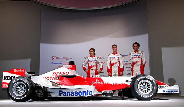Plánované aktivity firmy Toyota v motoristickém sportu pro rok 2007