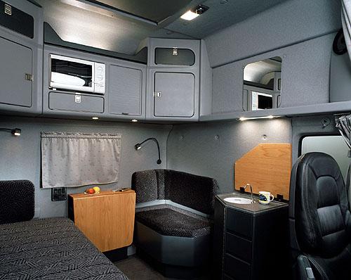 Kabina Scania eXc = dokonalý druhý domov řidiče