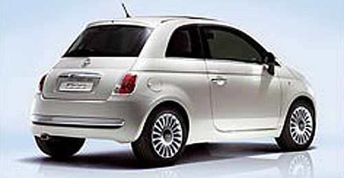 Evropským autem roku 2008 se stal Fiat 500