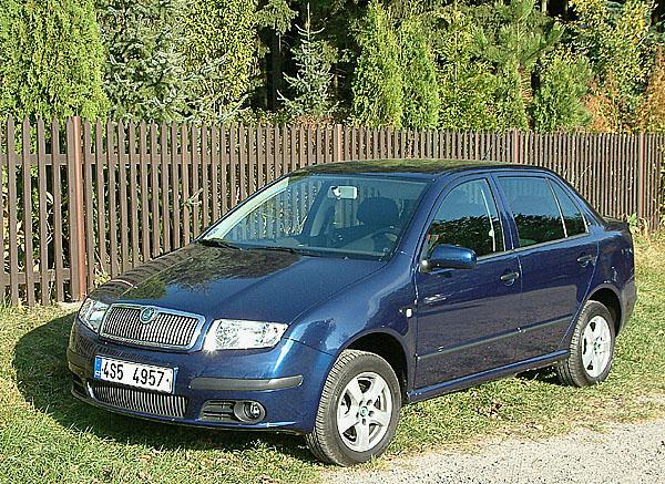 Škoda Fabia 1.4 16V sedan vtestu redakce