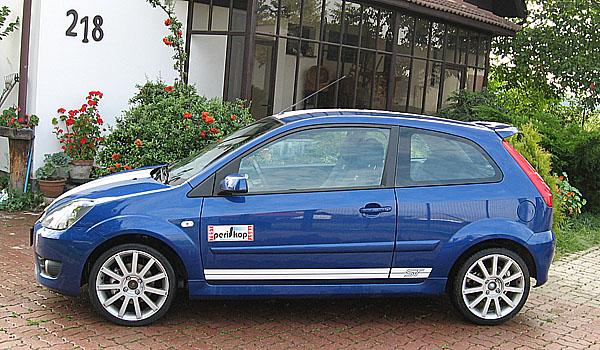 Sportovní Ford Fiesta ST vtestu redakce