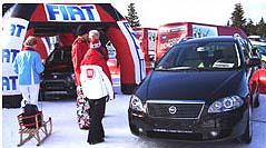Fiat partnerem Rossignol Demo Tour 2008