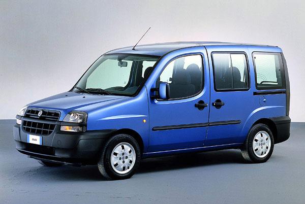 Fiat Dobló ve dvou verzích