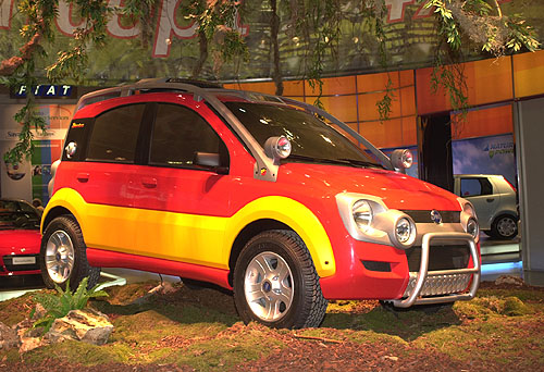 Fiat Auto na 27. ročníku Boloňského autosalónu (7. – 15.12. 2002)