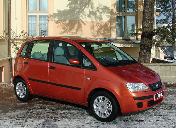 Nový model Fiat Idea 13. února 2004 na náš trh