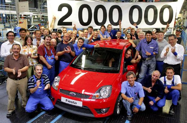 Montážní závod společnosti Ford v německém Kolíně nad Rýnem dosáhl dalšího milníku