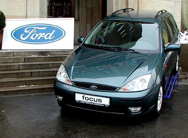 Tisková konference Ford Motor Company proběhla 17. ledna vPraze