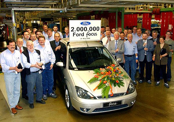 Světový bestseller Ford Focus - vEvropě vyrobeno již 2 miliony