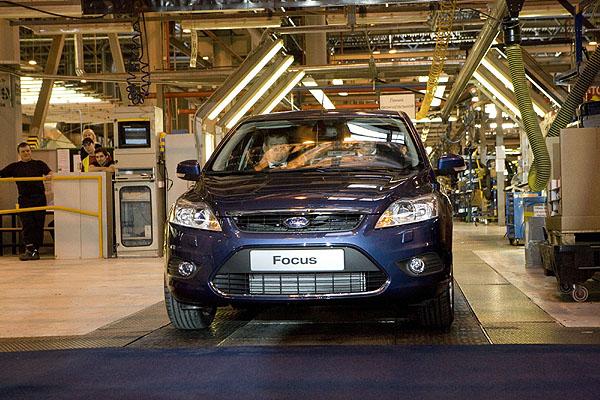 Z výrobního závodu Ford v ruském Petrohradu začaly vyjíždět vozy Ford Focus nové generace