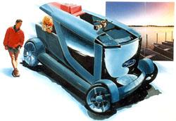 Soutěž mladých designérů Ford Design Contest 1999 zná své vítěze
