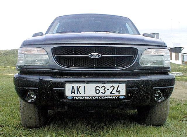 Ford Explorer Limited – tentokrát i vnáročnémterénu