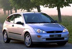 Ford Focus autem roku 1999 v ČR