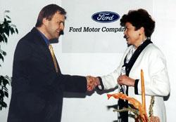 Ford podpořil nadaci Naše dítě