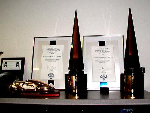 Nejlepším dealerem Forda 2002 se stal autorizovaný dealer BOSPOR zMladé Boleslavi
