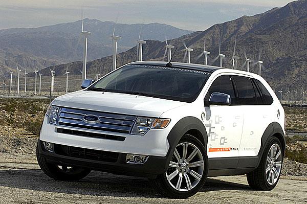 Ford testuje vEvropě hybridní vůz svodíkovým pohonem