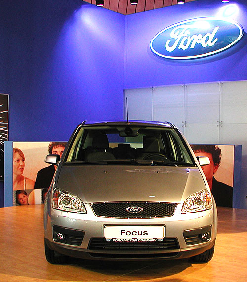 Nový Ford Focus C-MAX na brněnském autosalonu