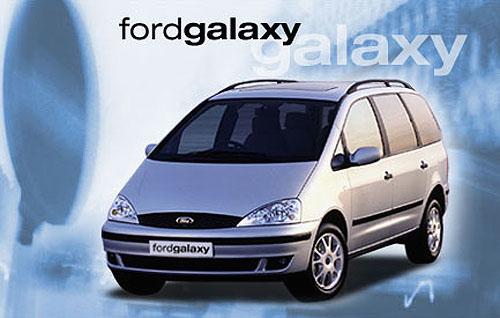 Velkoprostorový Ford Galaxy snovým naftovým motorem