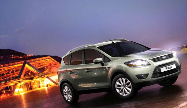 Ford Kuga: nový vůz s výrazným designem obohatí modelovou řadu Ford v roce 2008