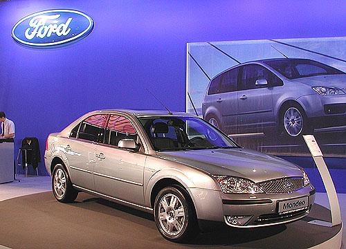 Nový Ford Mondeo na brněnském autosalonu