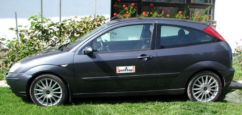 Sportovně laděný třídveřový Ford Focus ST170 vtestu redakce