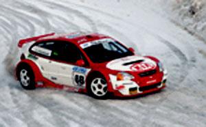 Kia se zúčastnízimních automobilových soutěží Andros Trophy