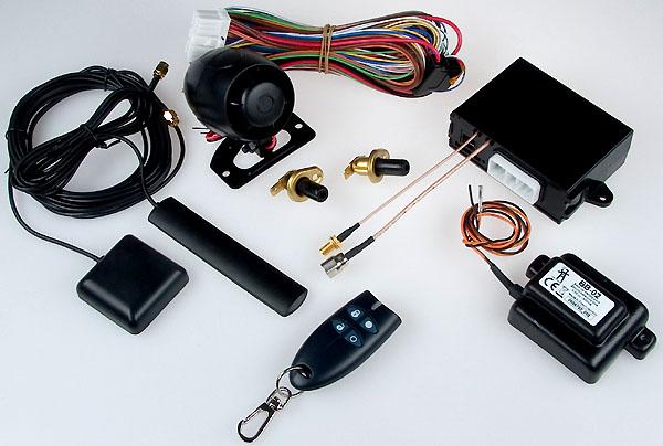 Jedinečná kombinace autoalarmu s GSM komunikací a GPS navigací