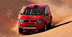 Premiéra Fiatu Panda Cross na rally Dakar