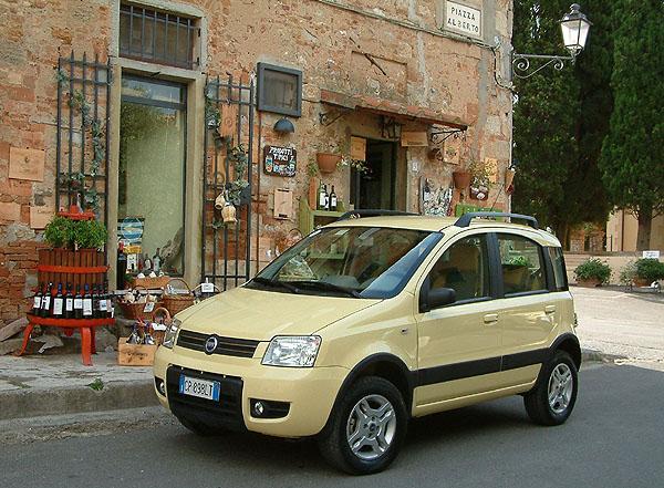 Fiat Panda 4x4: Zvládne víc, než jsme čekali