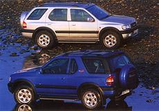 Opel Frontera - vkomfortu i do terénu