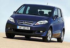 Honda představí vzáří 2004 na autosalonu v Paříži nový model FR-V