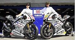 Fiat Yamaha Team v novém kabátě a s novým logem pětistovky