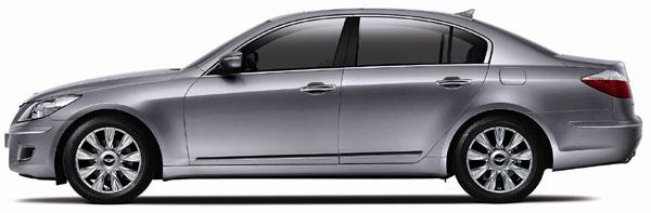 Celosvětová premiéra nového luxusního sportovního sedanu Hyundai Genesis na slavnostním ceremoniálu v Soulu