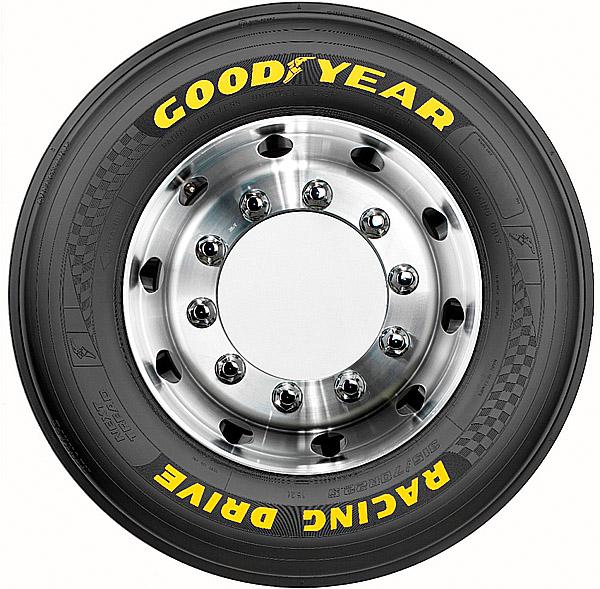Goodyear uvádí na trh nákladní závodní pneumatiku Racing Drive