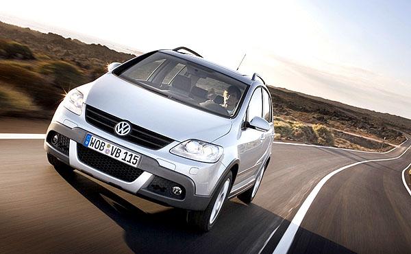 VW CrossGolf je kombinací SUV a MPV