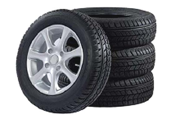 Zimní pneumatiky na litých kolech vhodnotě 20000 Kč zdarma.