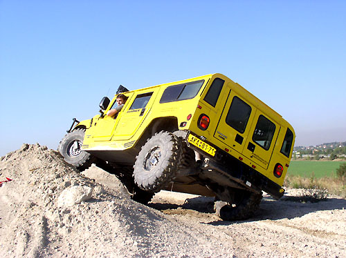 Včera – vúterý 23. září proběhla tisková konference o mimořádně úspěšných vozech Hummer